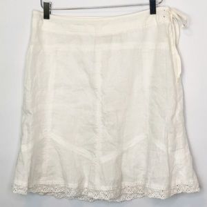 Athleta Linen Skirt (8)